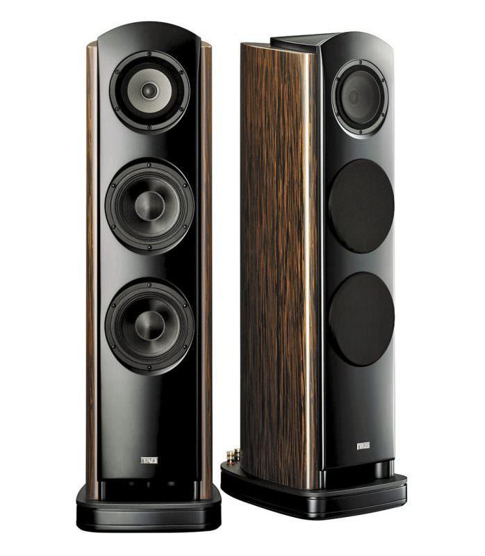 TAD E1 Evolution One Lautsprecher Zebrano Furnier