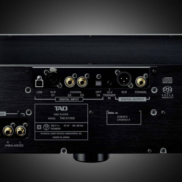 TAD D1000 Pre / DAC / CD/SACD-Player
