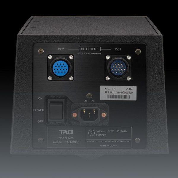 TAD Reference D600 Disc Player DAC