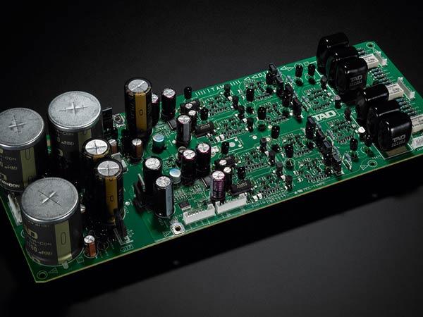 TAD D600 output circuit