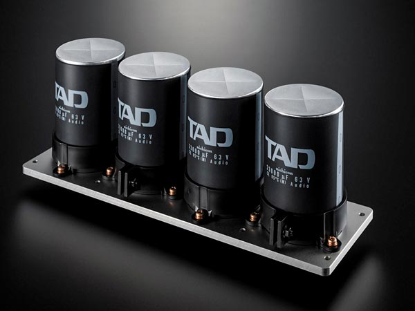 TAD M600 33,000µF capacitors
